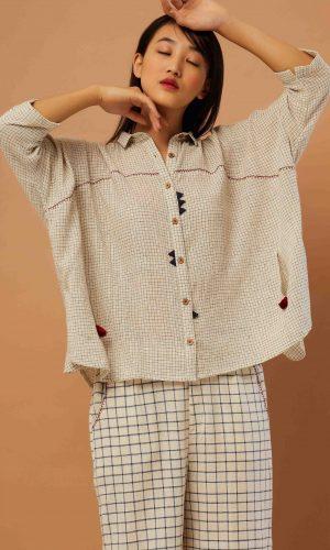 Handloom Boxy Day Shirt