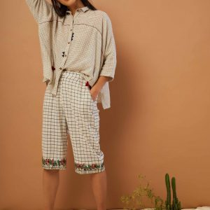 Clam Digger Pants – Meadow hem