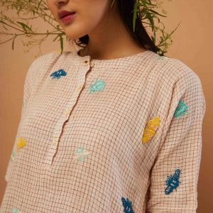 Moths & Bees Tunic