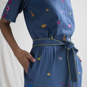 Juggler Jumpsuit in Blue