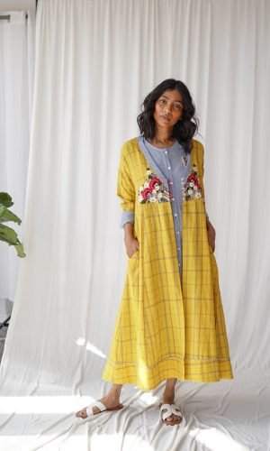Barley Handloom Dress